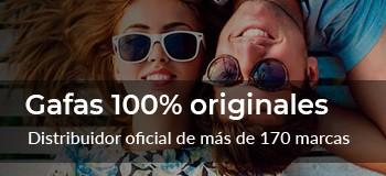 Gafas 100% originales
