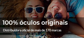 100% óculos originais