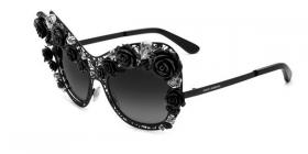Dolce & Gabbana DG2160B Flowers Lace. Limited Edition Black