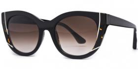 Thierry Lasry Nevermindy Black / Dark Tortoise